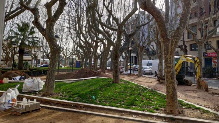 Plaça de l'Estació de Figueres