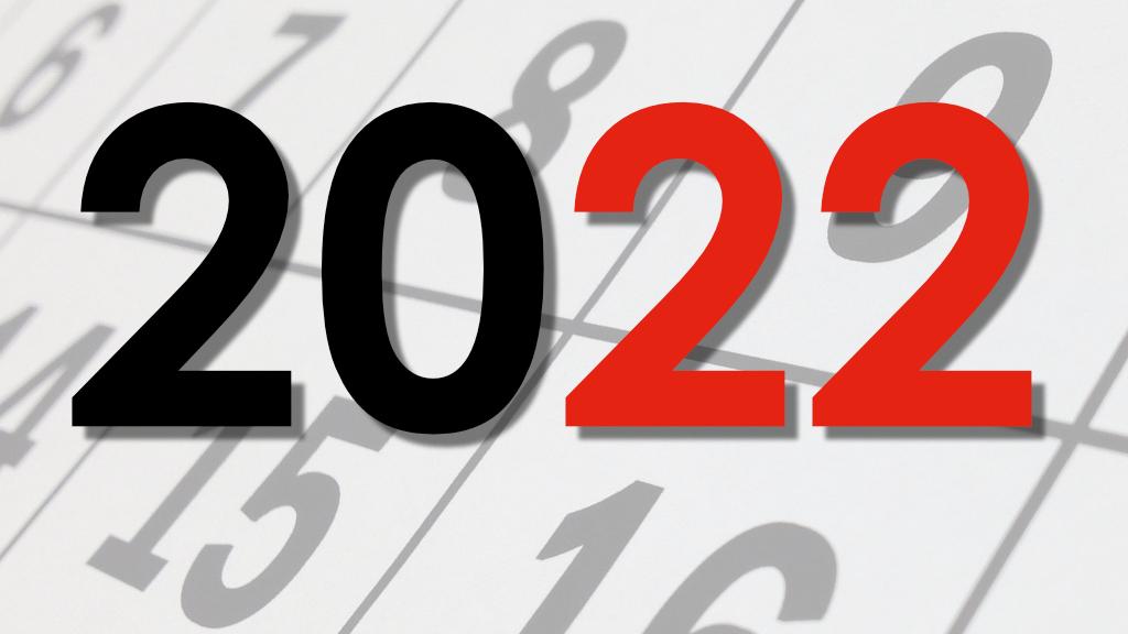 Calendari del 2022